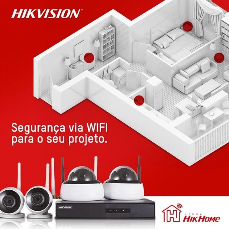 Comprar Câmera Wifi de Segurança Saltinho - Câmera de Segurança Wifi com Gravação