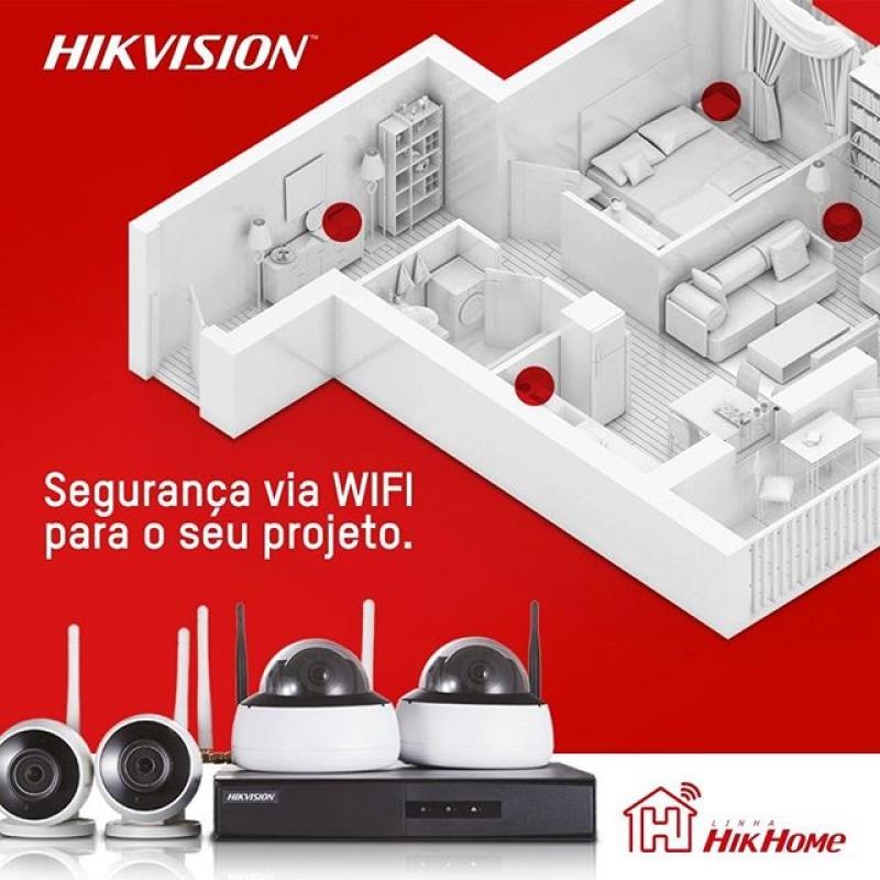 Comprar Kit Câmera de Segurança Wifi Águas de São Pedro - Câmera de Segurança Wifi com Gravação