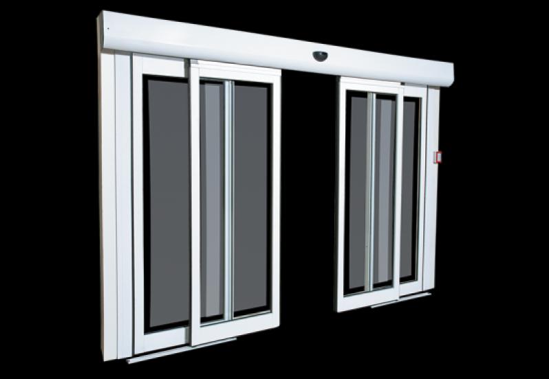 Porta de Vidro Automática com Sensor à Venda Iracemápolis - Porta de Loja Automática