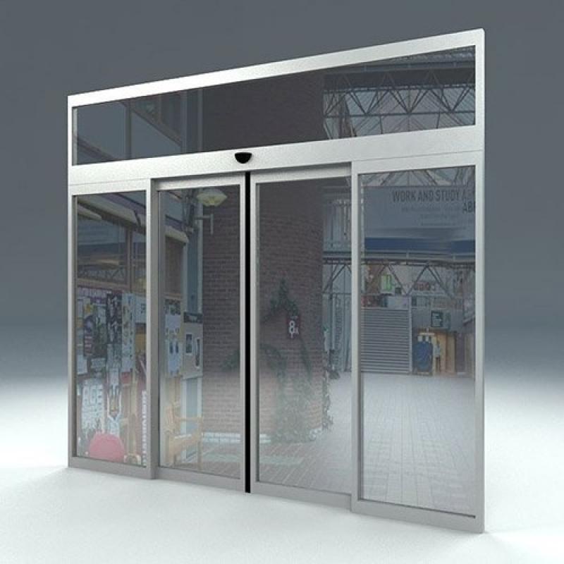 Portas Automáticas de Correr Iracemápolis - Porta de Vidro Automática com Sensor