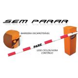 cancela de estacionamento preço Tietê