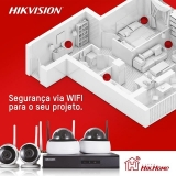 comprar kit câmera de segurança wifi Tietê