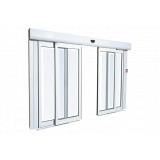 porta de vidro automática com sensor à venda Santa Barbara Do Oeste