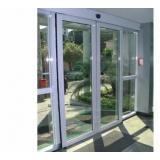 portas de correr automáticas de vidro Campinas