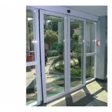 portas de correr automáticas de vidro Iracemápolis